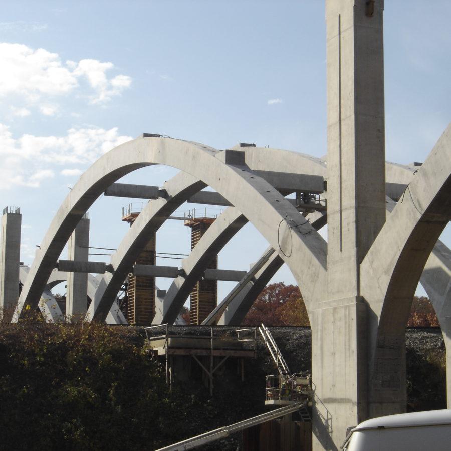 Concrete Superstructure: McNary Bergeron & Associates